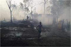 more than 125 slums burnt in hoshiarpur