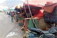 street market in solan