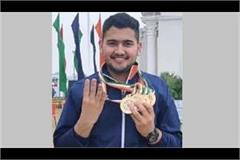 aneesh won four gold medals