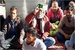 mla rakesh singha on strike for 3 days on water problem