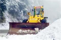 administration engaged in restoration of roads after snowfall in shimla
