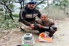 passer by arrested with hashish