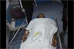 bullets fired in jhanjhadi village of karnal three people injured