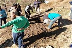 police took out the deadbody by digging the ground