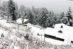 snowfall in dalhousie bharmour and bhatiyat