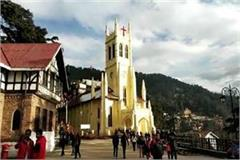 voice of warning bell in the christ church echoed in shimla