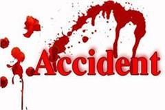 una road accident one death