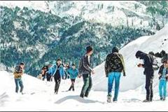 snowfall and hail reduced temprature by 8 degrees in 5 days in state