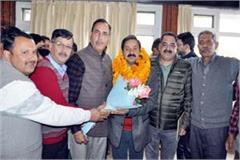 chandrabhushan nag became bjp district president