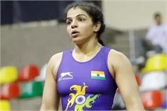 indian wrestlers led by sakshi won all four golds