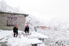 situation worsens after snowfall in lahaul spiti