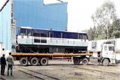 new rail engine will soon run on the pathankot jogindernagar track