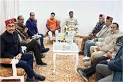 core group meeting in hotel peterhoff