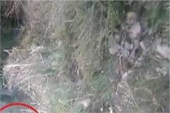 a painful accident in kullu jeep lying in a deep ditch