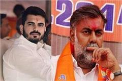 leader of the opposition bhargava s son attacked bjp veteran