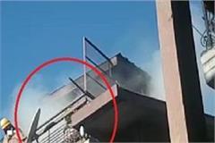 shimla sanjauli engine house near terrible fire in the house