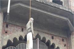pujari s body hangs at temple gate in rae bareli fear of murder