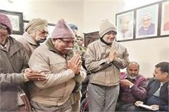 70 000 central retired employees get first benefit of haryana vij