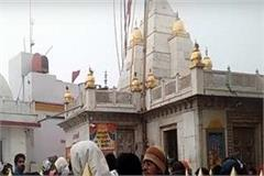 cold in naina devi temple budding thousands of thankful