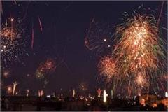 during the pravasi bharatiya sammelan ban on fireworks