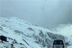 travel in snow for drivers in manali