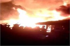 150 slums fire in noida