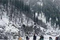 winter carnival snowfall inflow of tourists increased in manali