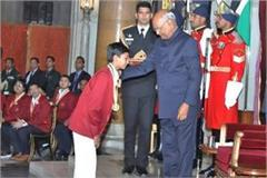 kartik and adrica have been honored by the president