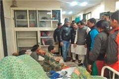 congress leader s felony beaten by municipal guard