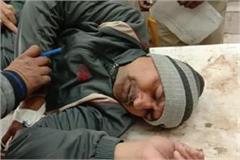 bad pogrom on parole punishes panchayat secretary shot dead