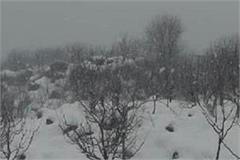 kullu fresh snowfall