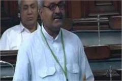 janardan speaks the language in the lok sabha