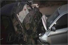 indore police accident 4 killed 2 injured
