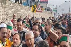 kuldeep arrives in solan for first time after becoming himachal president
