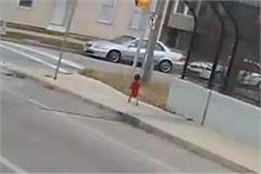 us bus driver rescues baby wandering on overpass