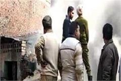 cylinder blast at home ludhiana