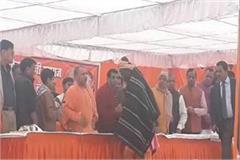 cm yogi reached gorakkhpur