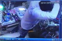 rod and sword attack on shopkeeper see photos
