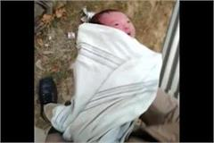newborn found in pgi campus of rohtak