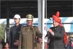 haryana legislative assembly kanwar pal flag hoisting in karnal
