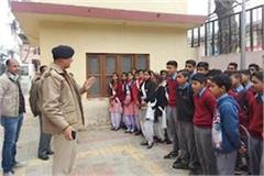 mandi sundernagar police station student action know