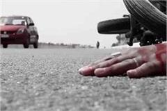two separate road accidents in ghazipur
