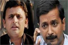 kejriwal s support for akhilesh criticism of modi government for cbi action