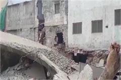 municipal corporation blasted water tank 3 houses damaged