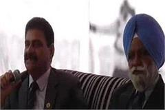 organizing east sainik welfare board meeting in paonta sahib
