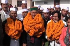 kaul singh entered in virbhadra sukhu s talk war
