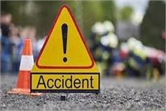 scorpio and bike collision death on 1 occasion second broke into hospital