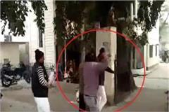auto driver beating
