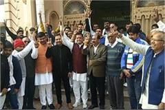 jind by elections mp saini two step forward declared candidate