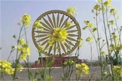 ashok chakra built in memory of ashoka pillar will be inaugurated in january